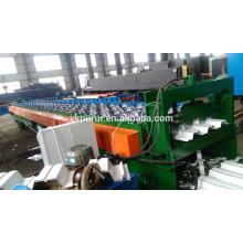 Fußboden Stahl Metall Decking Walze Formmaschine