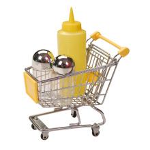 3pcs outils à condiments avec mini chariot