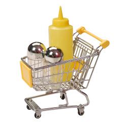 3pcs condiment tools with mini trolley set