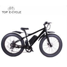 TOP New design Aluminium Alloy fat tire 8fun rear motor electric hunting bike