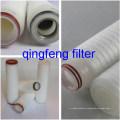 Cartucho de filtro plisado de membrana PES liofóbico médico