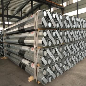 Single circuit Octagonal steel Electric poles