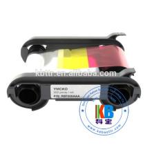 300 impressions ymcko couleur ruban R5F008S14 pour machine de carte en plastique RFID Evolis Primacy