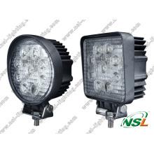 Lampe de travail à LED lumineuse 27W hors véhicules routiers Lumière de conduite à LED Epsitar Lumière à LED Spot à LED