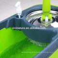 Spin Mop Griff Ersatz mit 2 Mikrofasertuch Wischmopps