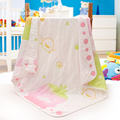 Baby Girl Blanket Mottagande filt Soft Baby Blanket