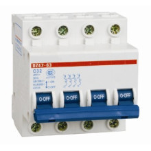 Min Circuit Breaker with Dz47-4p