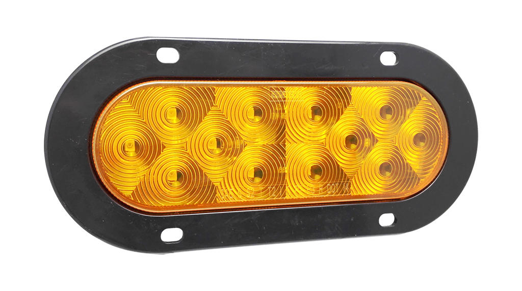 "6""Oval Amber LED Truck Trailer Indicator Turn Lamps"