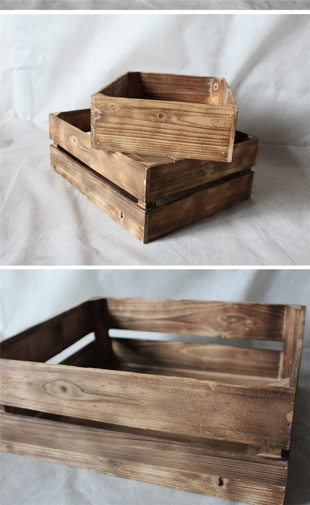 friut wooden box