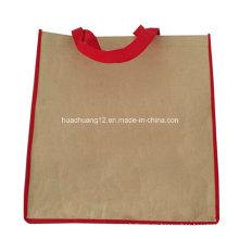 La bolsa de tela no tejida de encargo de los PP que hace compras para la promoción Opg096