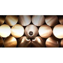 40mm Tubo galvanizado para suministro de agua refrigerada / retorno a BS 1387, JIS G 3452 - COREANO