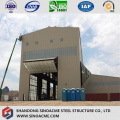 Steel Structure High Rise Industrial Plant with Crane