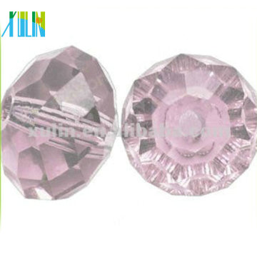 Venta al por mayor 6 * 8 mm Crystal Rondelle Beads / Tire forma Rondelle Beads 5040 #