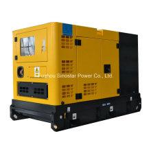 Звукоизолированный дизельный генератор 3 фазы 15 кВт