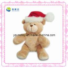 Brinquedo macio do urso do Natal da peluche (XDT-0186)