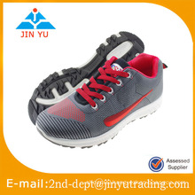 Mens running sneakers flyknit upper brand sport shoes