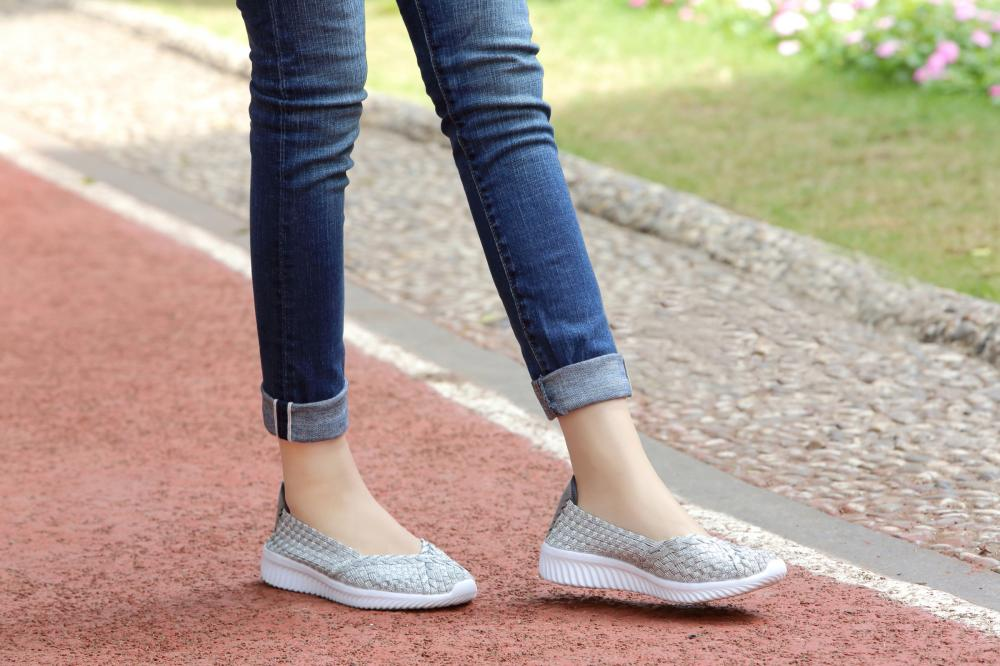 Soft Insoles Woven Pump