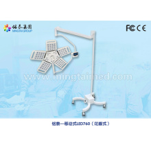 Mobile shadowless LED lamp