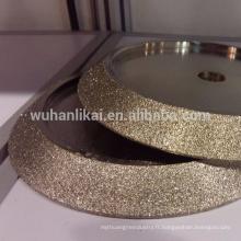 Outils abrasifs en pierre Diamant galvanisé tambour meule pour marbre et granit