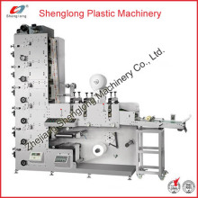 Adhesive Label Automatic Flexographic/Flexo Printing Machine (Printer Machine)
