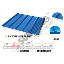 heat resistant transparent pvc insulation sandwich sheet