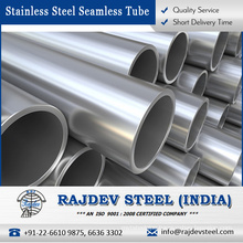 Stainless Steel Seamless Tube 316L Sale - Hot Dip Galvanized and Pressure Tested