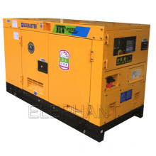 Diesel silencioso super do gerador de 10kVA 15kVA 20kVA 25kVA 30kVA 40kVA