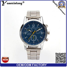 Yxl-662 Western Style Chronograph Watch Men with Stainless Steel Dise Band