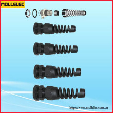 Plastic Fixed Cable Gland PG-LR Type Long Thread (with Strain Relief)