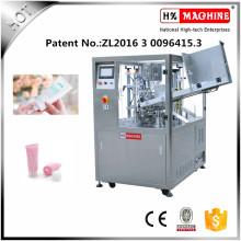 Máquina automática de llenado y sellado de tubos flexibles aplicada en química, industria, medicina, alimentación