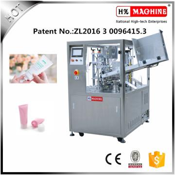 Automatische weiche Rohr-füllende und Dichtungs-Maschine angewendet in der Chemikalie, in der Industrie, Medizin, Nahrung