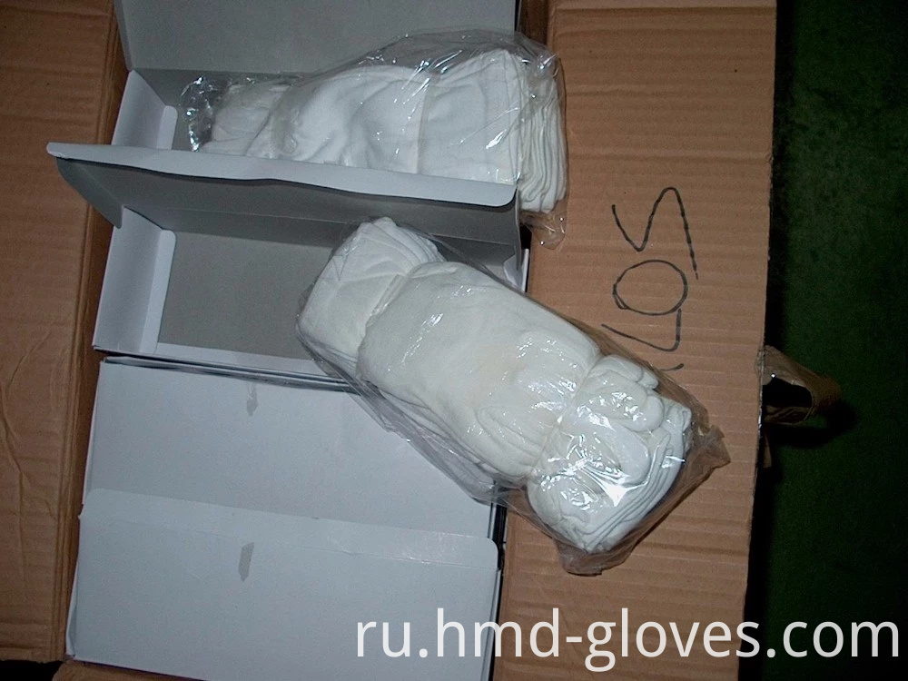 Cotton Gloves Box