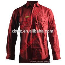 Camisa repelente de mosquitos 100% algodón