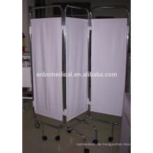Populäre heiße Verkauf Krankenhausmöbel dreifache Krankenhausbettschirm