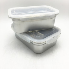 Sealed Stainless Steel Square 3pcs Set  Food Storage Container/Food Container Set