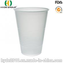 Tasses en plastique jetables de bière blanche de pp