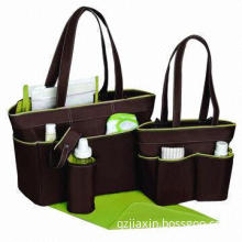 Mommy diaper bag sets/3pcs in 1 set, customized design accepted