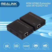 Extendeur HDMI 60m par simple Cat5e / 6 (3D, IR, EDID)