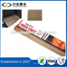Libre de PFOA Hoja para hornear de teflón reutilizable antiadherente de alta temperatura