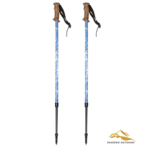 Professional Design for Alpenstock Trekking Poles Aluminum Alloy Walking Sticks supply to Benin Suppliers