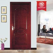 Porte d'intérieur en placage en bois