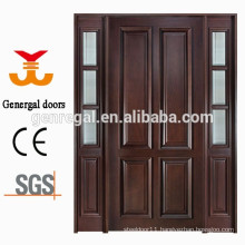 Solid wood villa entrance wood design door