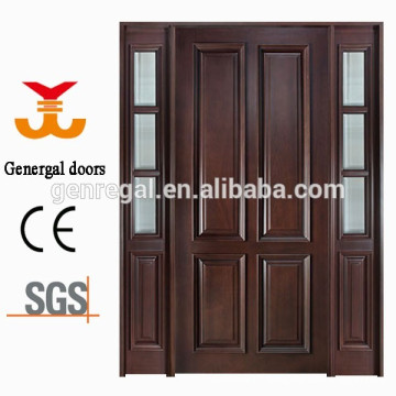 Luxury exterior paint solid wood veneer door