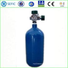 Cylindre de gaz en acier sans couture à haute pression de 3L (ISO108-3-200)