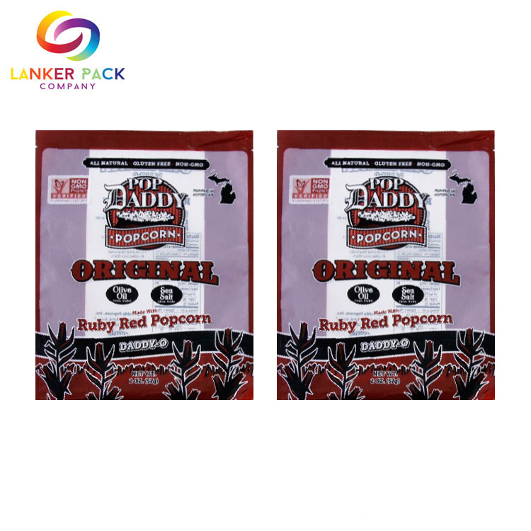 Custom Print Plastic 3 Side Seal Sachet