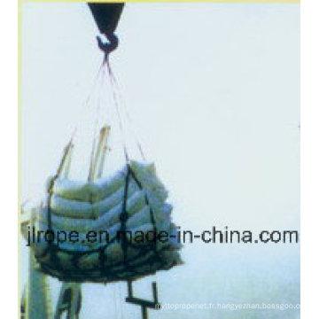 Net de filet de chargement / Réseau de sécurité de trottoir / Afety Net de la plate-forme d'hélicoptères