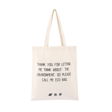 Wholesale Custom Logo Natural Eco-Friendly Cotton Recycled Tote Grocery Shopping Bag Reusable Shopping Bags