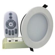 Temperatura de color del control remoto RF de la serie ND-J y luz regulable hacia abajo