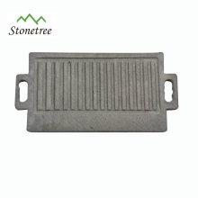 Retângulo Natural Lava Stone Barbecue Board