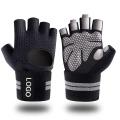 Перчатки для тяжелой атлетики с запястьями для тренировок в спортзале